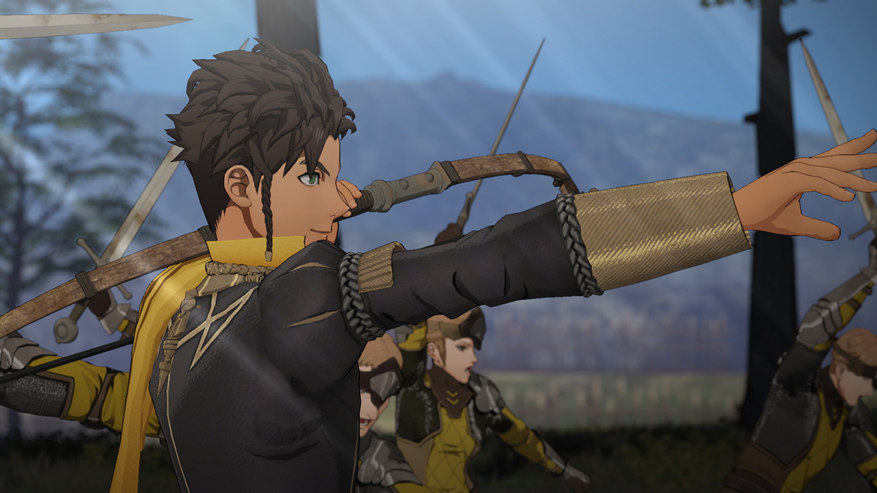 Fire Emblem Three Houses looks like it takes place at ...