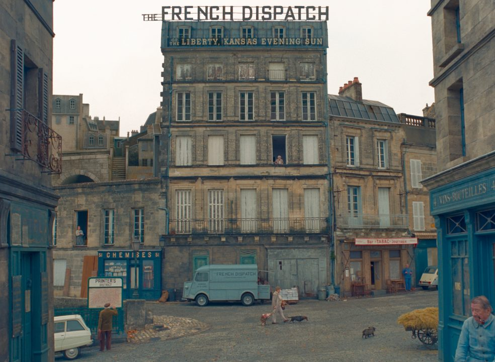 THE FRENCH DISPATCH. Photo Courtesy of  Searchlight Pictures. © 2020 Twentieth Century Fox Film Corporation All Rights Reserved