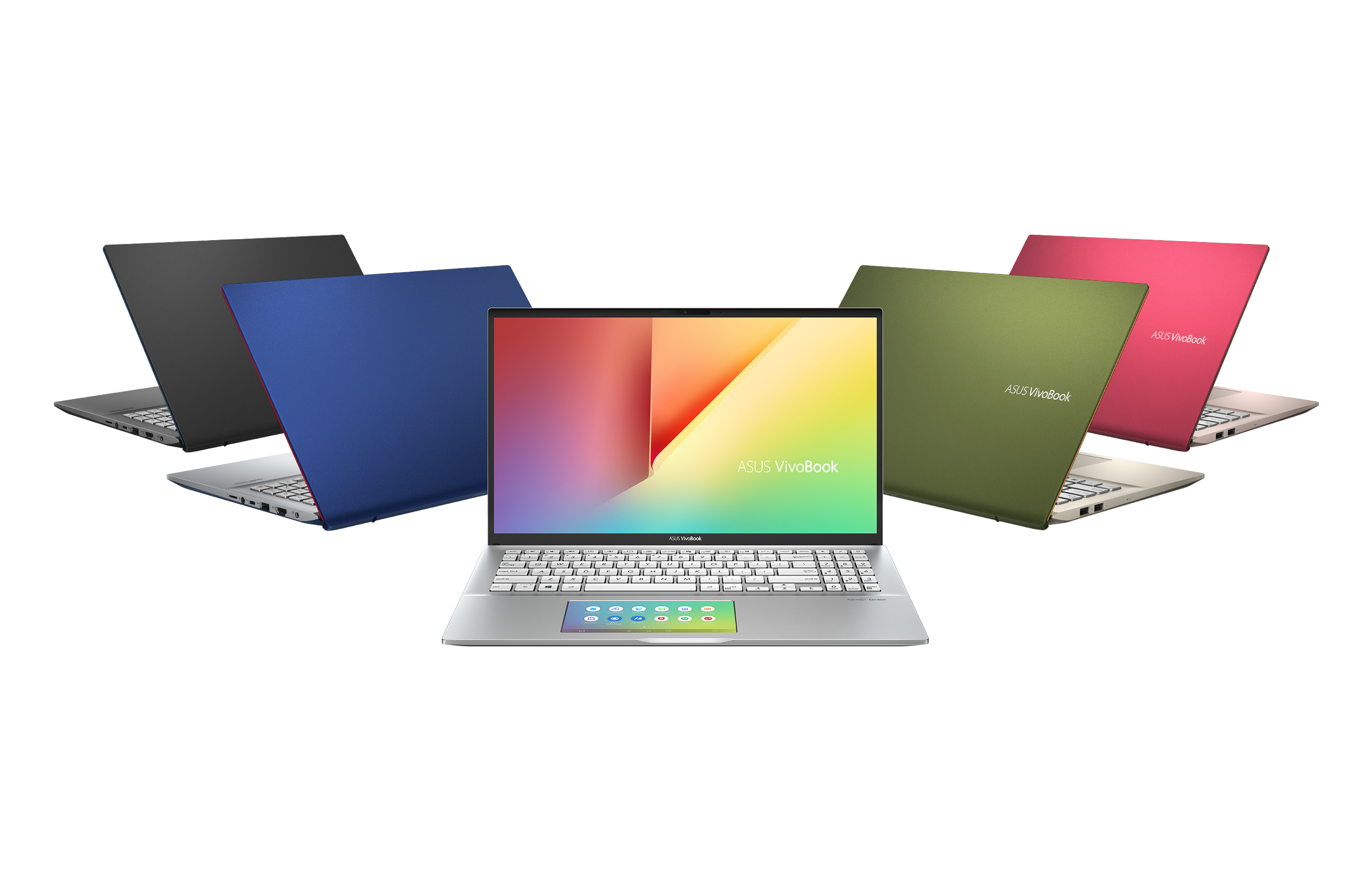 ASUS VivoBook S14_S15_Available in five bold color blocking finishes