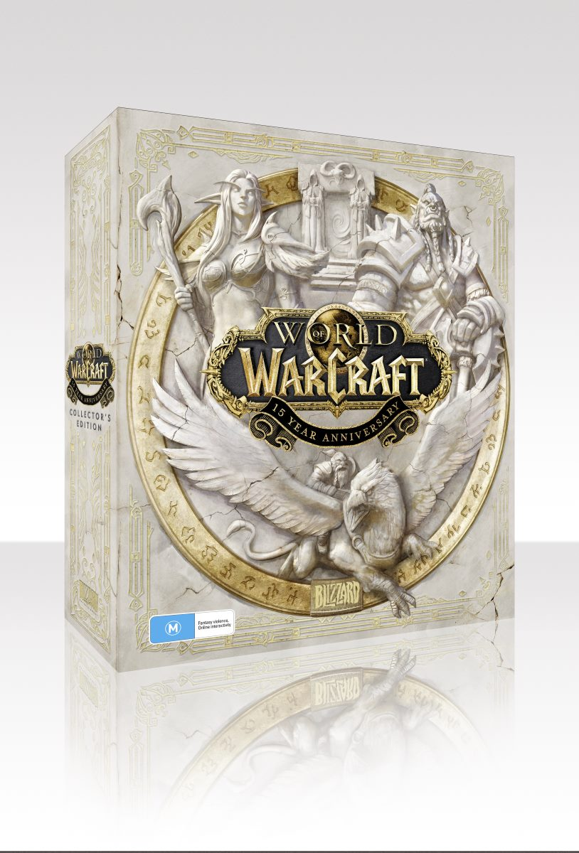 WoW 15 Year Collectors Edition box