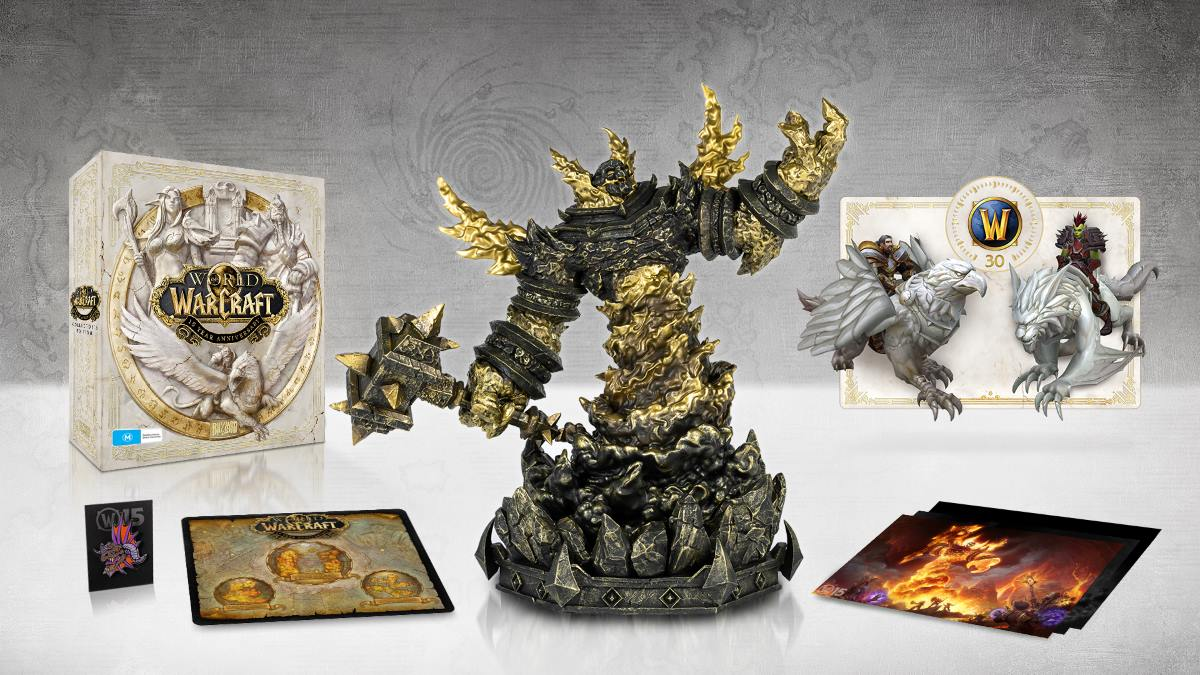 WoW 15 Year Collectors Edition