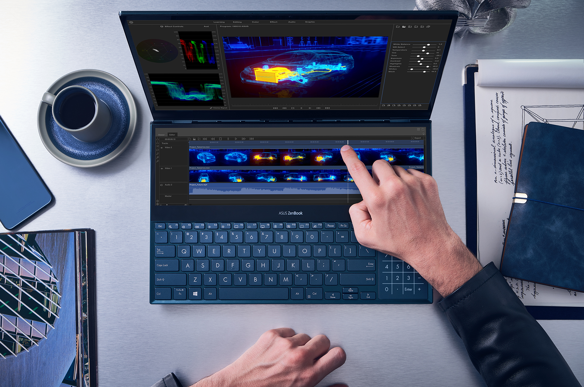ZenBook Pro Duo_UX581_Video Editing