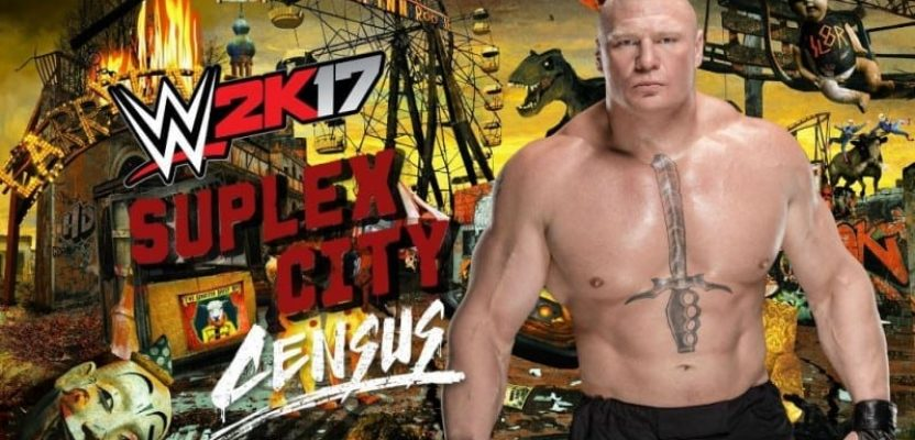 WWE 2K17 welcomes you to Suplex City