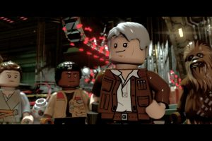Han and Chewie are home in LEGO Star Wars: The Force Awakens