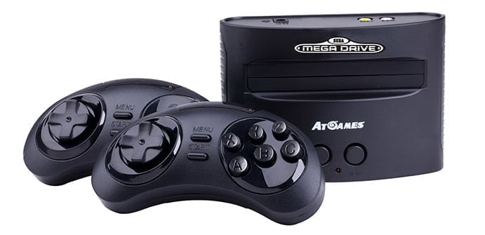 SEGA Classic Games Console coming to Australia next month