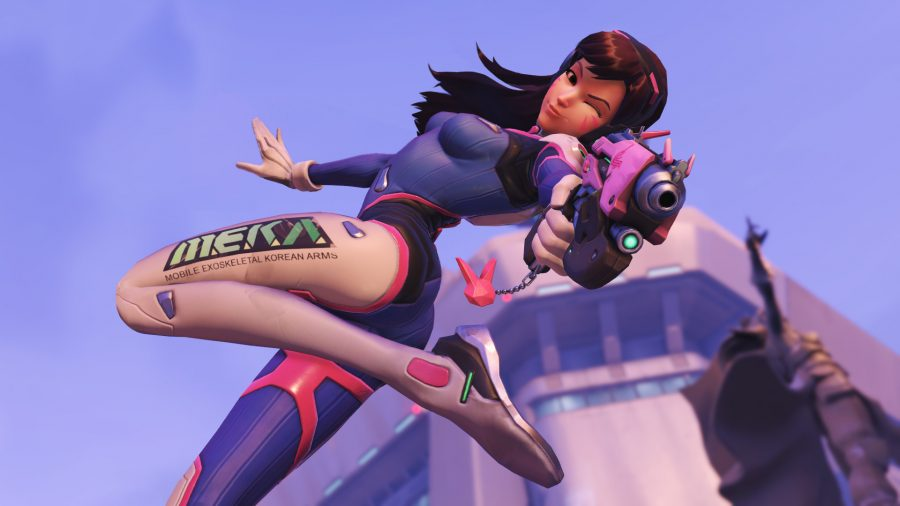 Overwatch's D.Va is coming to StarCraft II as an announcer