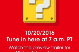 Nintendo reveals the NX is a home console
