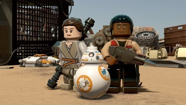 LEGO Star Wars: The Force Awakens first DLC available now