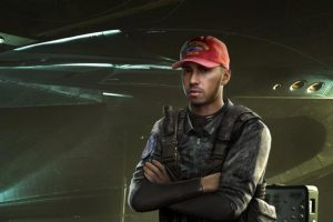 Reigning World Champion race car driver Lewis Hamilton joins the Infinite Warfare cast