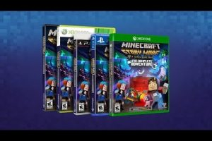 Complete collection of Telltale's Minecraft: Story Mode now available at retail