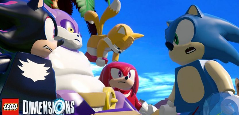 Sonic is speeding towards LEGO Dimensions