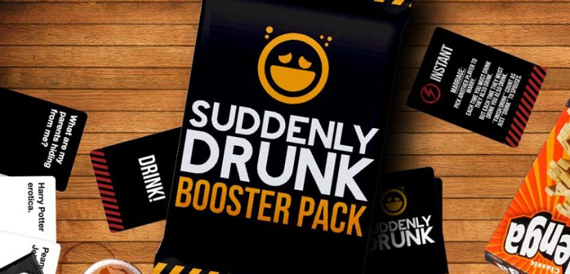 Suddeny Drunk booster packs launching at PAX Australia