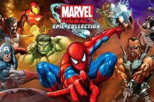 Marvel Pinball Epic Collection includes ten classics