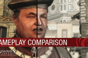 Compare old and new versions of Assassin's Creed: The Ezio Collection