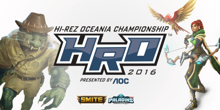 The Hi-Rez Oceania Championship is this weekend