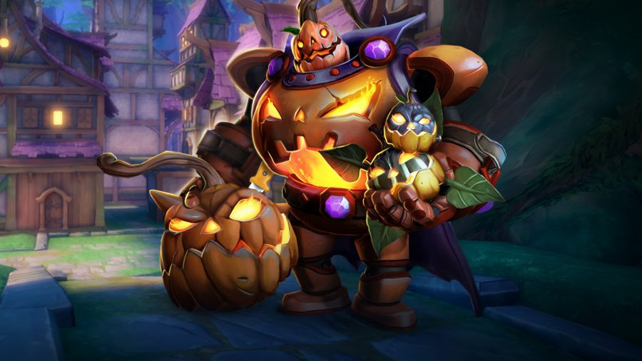 Paladins' Pumpkin Patch out now