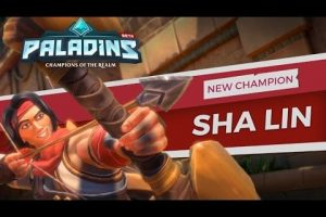 Paladins new champion is Sha Lin the Desert Wind