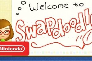 Nintendo lets you trade your drawings with friends in Swapdoodle