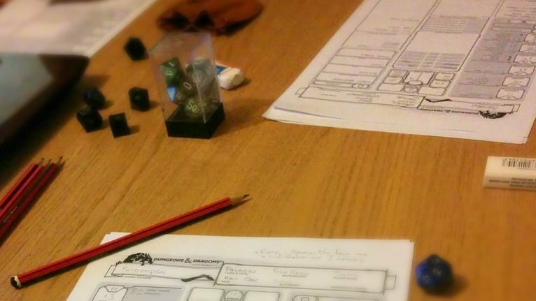 DnD Diaries Part 1 - The grass isn't always Greenest on the other