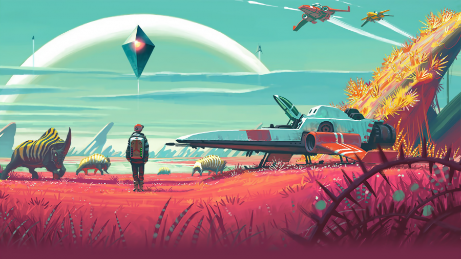 No Man's Sky appears on Xbox Marketplace