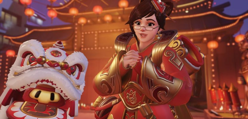 All of Overwatch's Lunar New Year emotes and highlight intros