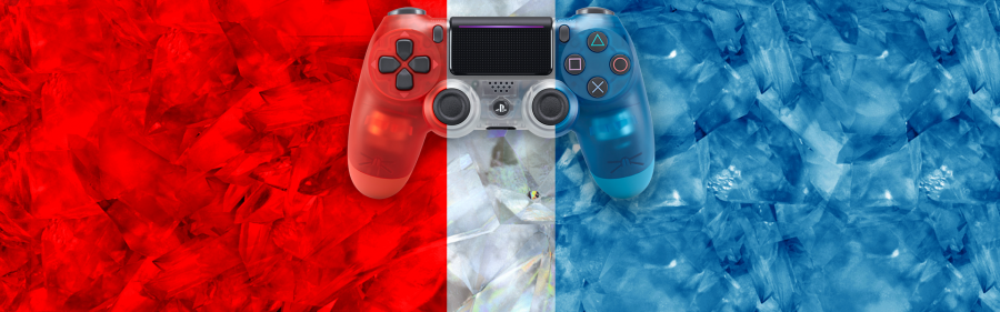 Sony is bringing three Crystal DualShock 4 controllers to stores in October