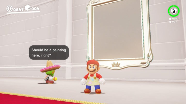 Super Mario Odyssey Guide What Are The Paintings For