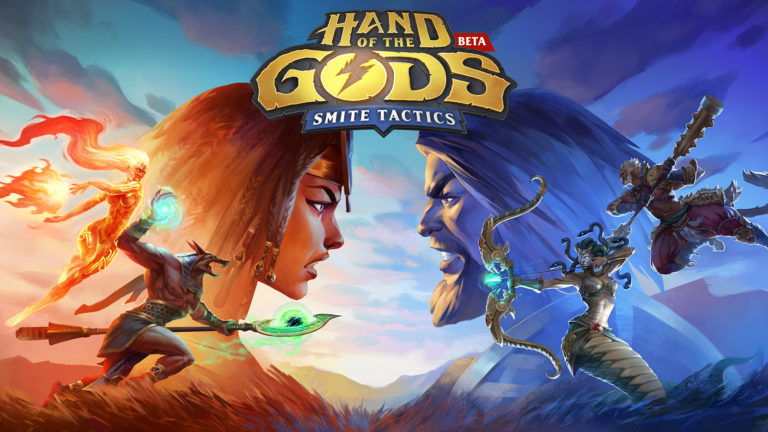SMITE's card game, Hand of the Gods has launched