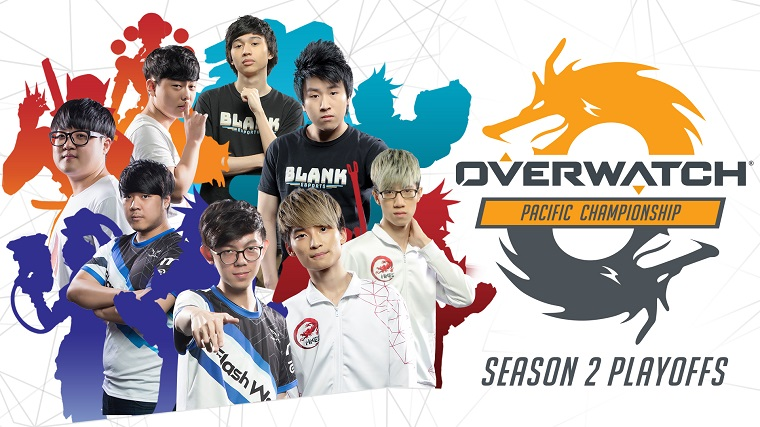 Tune in and cheer on Aussies Blank Esports in Overwatch Pacific Championship's season 2 playoffs