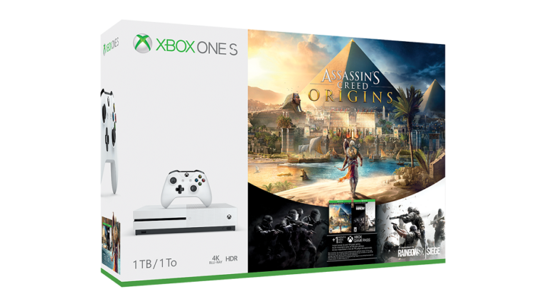 Two Assassin's Creed: Origins Xbox One S bundles coming out this month