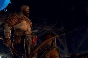 Paris Games Week 2017 – God of War is coming to PS4 in early 2018, trailer shows off combat