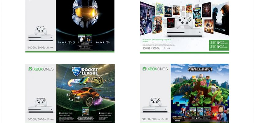 Four new Xbox One S Bundles hitting store shelves