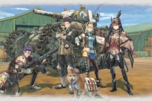 Valkyria Chronicles 4 coming to Switch in 2018