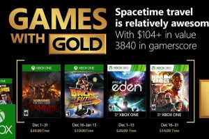 Xbox Games with Gold games for December 2017 announced