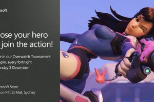 Sydney's Microsoft Store to host fortnightly Overwatch Tournaments