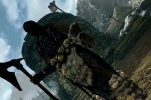 Here's a side-by-side comparison of Skyrim on Switch and Xbox One