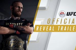 EA announces Conor McGregor as cover star for UFC 3