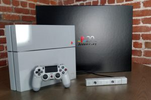 PlayStation is giving you the chance to win 1 of 5 special 20th Anniversary PS4 consoles