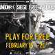 """Rainbow Six Siege free to play weekend comes ahead of the release of """"Operation Chimera"""""""