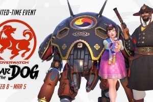 Overwatch's Year of the Dog event is live, new skins, emotes and more