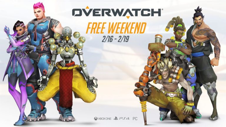 Overwatch Free Weekend kicks off this Friday