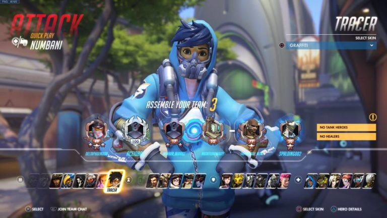 Overwatch players can now select a skin at the beginning of each match