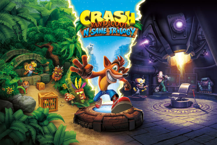 Crash Bandicoot N. Sane Trilogy launching for PC, Switch and Xbox One in July