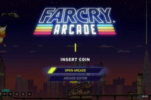 Far Cry Arcade requires PlayStation Plus or Xbox Live Gold