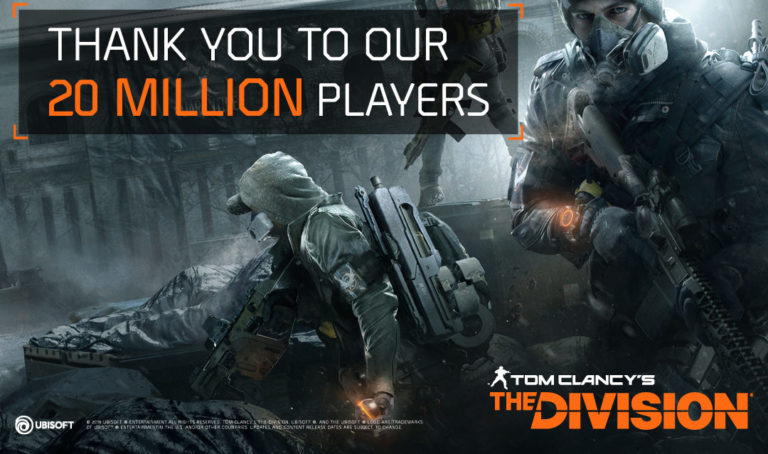 Ubisoft and The Division celebrate two years and 20 million players