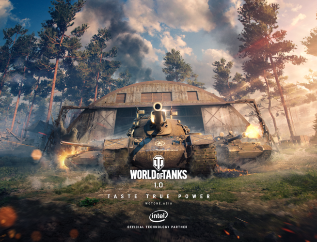 World of Tanks update 1.0 launches today