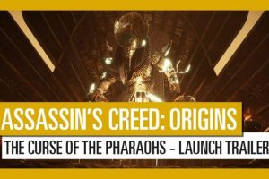 "Travel to the Ancient city of Thebes in Assassin's Creed Origins ""The Curse of the Pharaohs"" DLC"