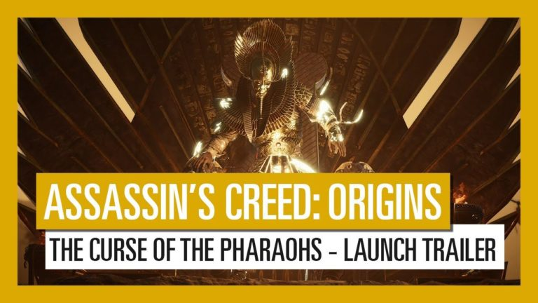 """Travel to the Ancient city of Thebes in Assassin's Creed Origins """"The Curse of the Pharaohs"""" DLC"""