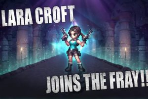 Lara Croft joins Final Fantasy Brave Exvius for a limited time this month