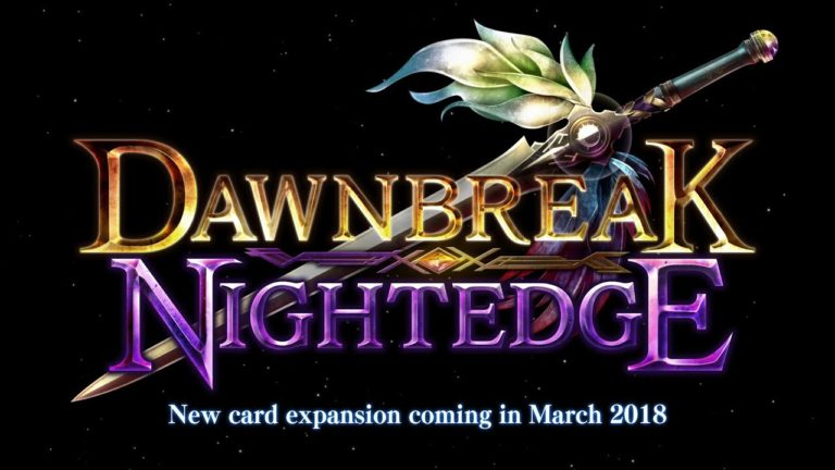 Shadowverse Dawnbreak Nightedge expansion is launching this month